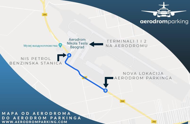 Airport Parking Belgrade Airport Nikola Tesla Parking Location